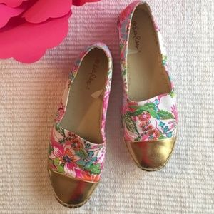 Lily Pulitzer Nosey Posey Espadrilles. Size 7.5